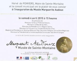 Inauguration musée de Marguerite Audoux